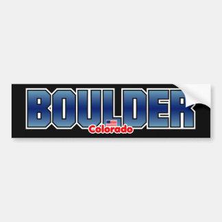 Boulder Bumper Bumper Sticker