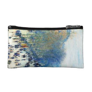 Boulevard des Capucines Claude Monet fine art Makeup Bag