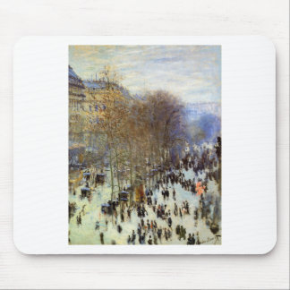 Boulevard of Capucines by Claude Monet Mouse Pad