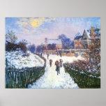 Boulevard Saint Denis Argenteuil by Claude Monet Posters