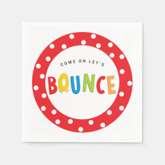 Bounce House Birthday Party Supply Paper Napkins