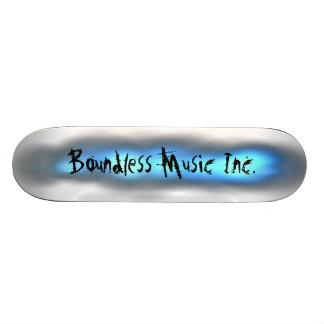 Boundless Music Inc. Skateboard designs