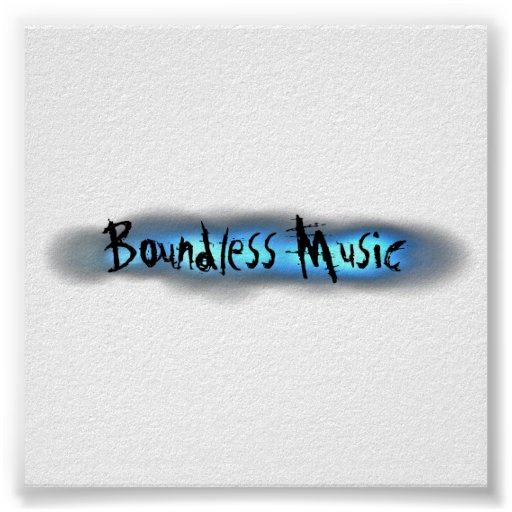 Boundless Music Poster