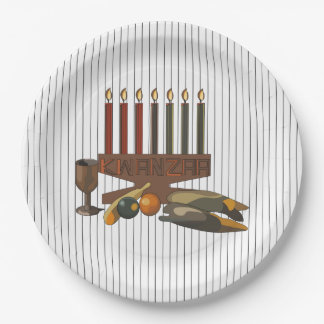 Bountiful Kwanzaa Kwanzaa Party Paper Plates