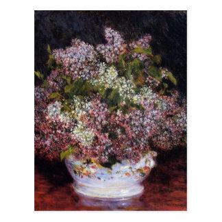 Bouquet of Flowers by Renoir Postcard