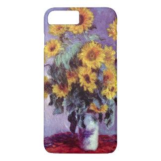 Bouquet of Sunflowers by Claude Monet, Vintage Art iPhone 8 Plus/7 Plus Case