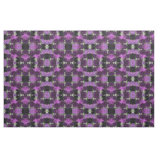 Bouquet Purple Carnations Fabric