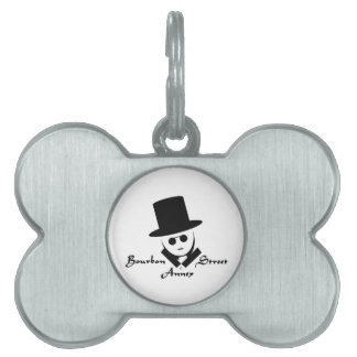 Bourbon Street Annex Logo Pet ID Tags