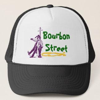 Bourbon Street New Orleans Classic Mardi Gras Gift Trucker Hat