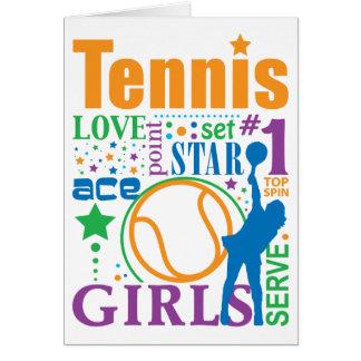 Bourne Tennis Card