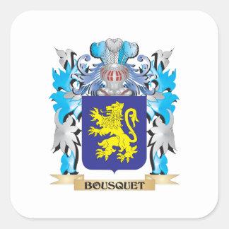 Bousquet Coat of Arms Sticker