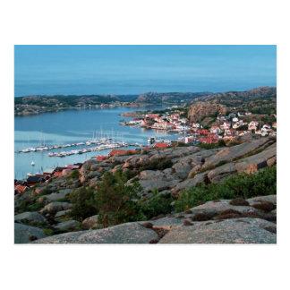Bovallstrand view postcard