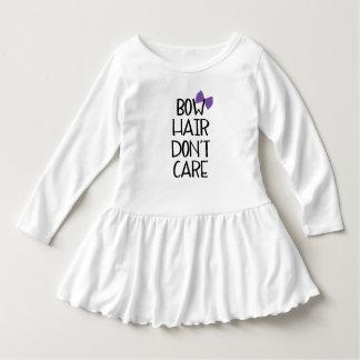 Bow Hair Purple Bow Toddler Tee