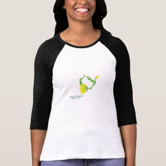 (Bow Posture I) Women's 3/4 Sleeve T-Shirt