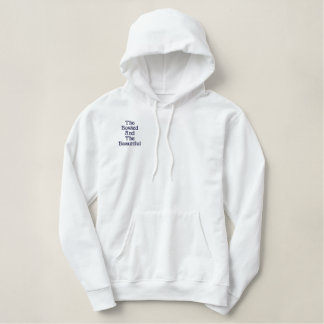 Bowled And Beautiful,_ Embroidered Hoodie