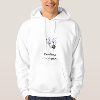 Bowling champion hoodie