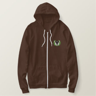 Bowling Crest Embroidered Hoodie