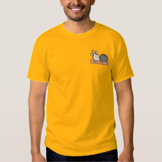 Bowling Logo Embroidered T-Shirt