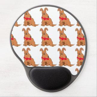 Bowtie Dog Gel Mouse Mats