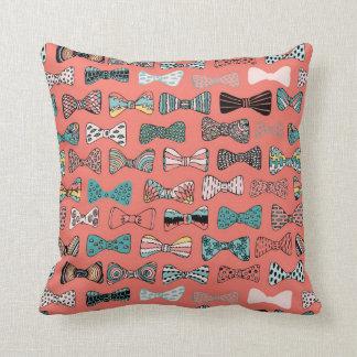 Bowtie geek cushions