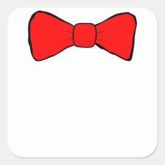 bowtie square sticker