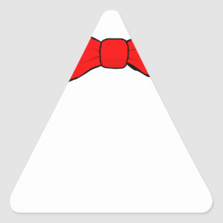 bowtie triangle sticker
