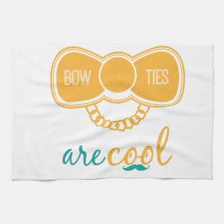 Bowties Are Cool Hand Towels