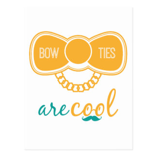 Bowties Are Cool Postcard