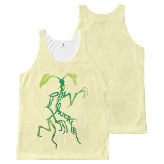 Bowtruckle Typography Graphic All-Over Print Tank Top