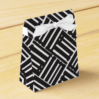 Box for Gift Black Flattery Modules Party Favour Box