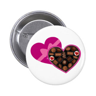 Box of Chocolates 6 Cm Round Badge
