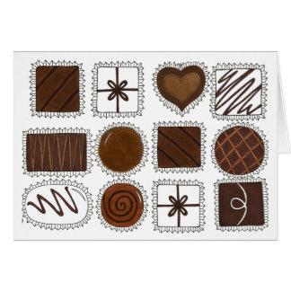 Box of Chocolates Valentine's Day Card