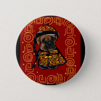 Boxer Dog of the Year 6 Cm Round Badge
