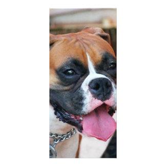 Boxer Dog Personalised Rack Card