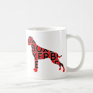 Boxer Text Hund Dog Coffee Mug