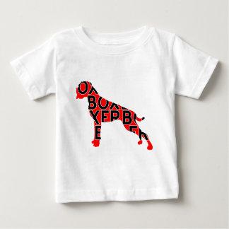 Boxer Text Hund Dog T-shirts