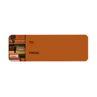 Boxes small Gift Tag Return Address Label