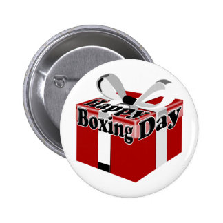 Boxing Day Pin