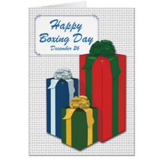 Boxing Day Card