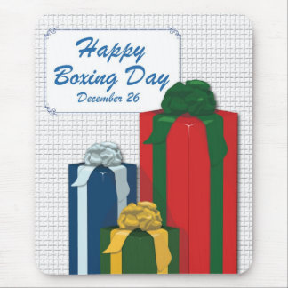 Boxing Day Mouse Pad