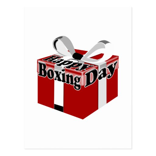 Boxing Day Postcards