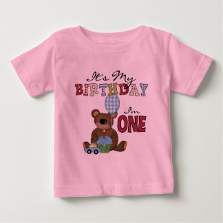 Boy Bear 1st Birthday Tshirts and Gifts