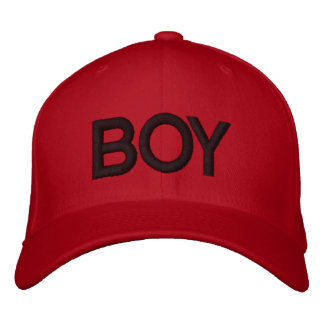 BOY CCAP EMBROIDERED HATS