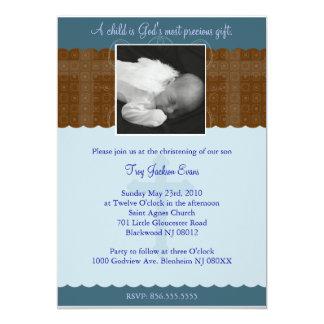 Boy Christening/Baptism Invitation