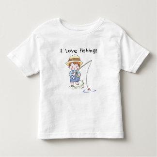 Boy I Love Fishing Tshirts and Gifts