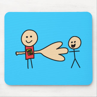 Boy Offering Shake Hand Peace Friend Friendship Mouse Pad