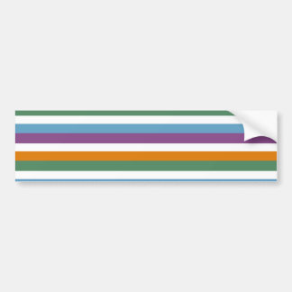 Boy Stripes Bumper Sticker
