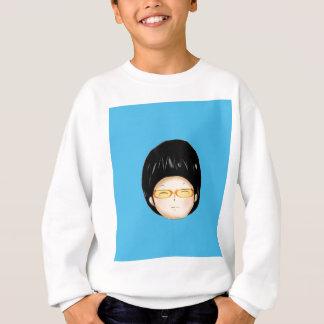 Boy sunglass sweatshirt