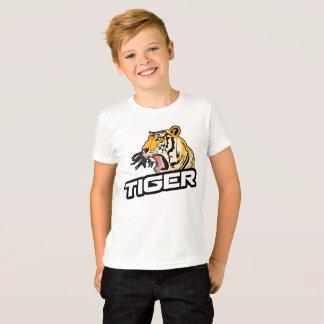 Boy T-shirt Short sleeves Animal cute tiger