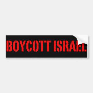 Boycott Israel - Bumper Sticker Car Bumper Sticker